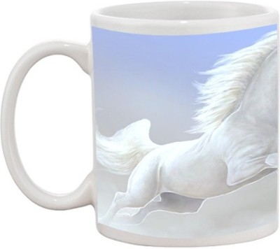 Go online shop Beautiful Horse Ceramic Mug