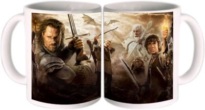 Shopkeeda Lord Of The Rings Ceramic Mug