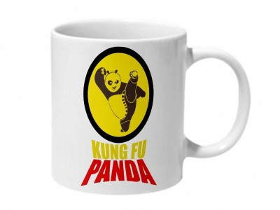 Mooch Wale Kung Fu Panda Ceramic Mug