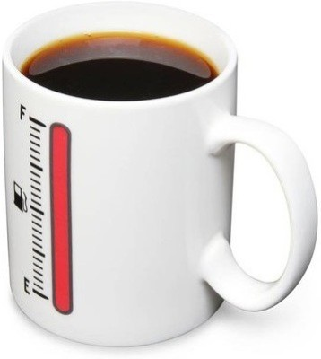 GeekGoodies Thermometre Color Changing Ceramic Mug