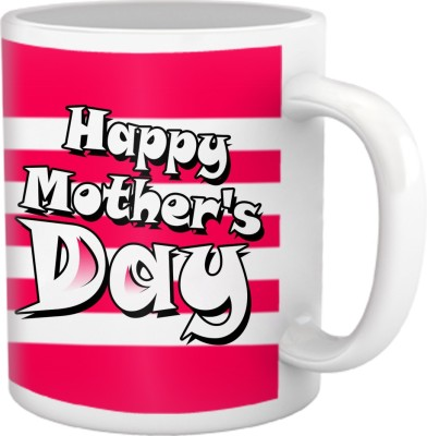 Tiedribbons Two Tone Happy Mothers Day Coffee Ceramic Mug