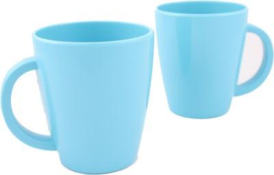 Hi Luxe Solid Clr Melamine 43052 Solid - Blue Melamine Mug
