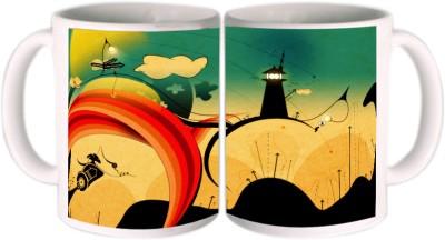 Shopkeeda Beautiful Signs Ceramic Mug