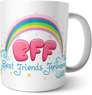 Chiraiyaa Happy Friendship Day - Best Friends forever with quote on best friends Ceramic Mug