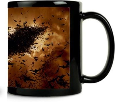 Zanky Batman Flying Bats-ZYBLCFM0106 Ceramic Mug