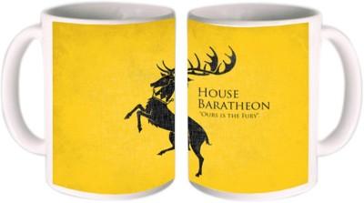Shopmillions House Baratheon Ours Is The Fury Ceramic Mug