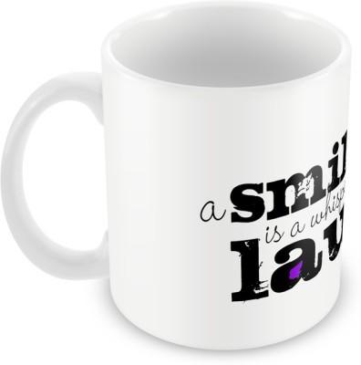 AKUP a-smile-is-a-whisper-of-a-laugh Ceramic Mug
