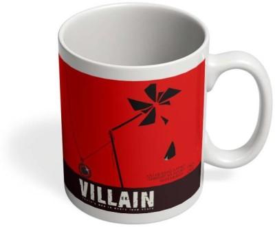 PosterGuy Ek Villain Psycho, Thriller, Bollywood, Minimal, Locket, Pinwheel, Multicolor Ceramic Mug