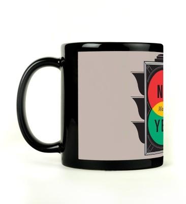 Expresion No Maybe Yes Ceramic Mug
