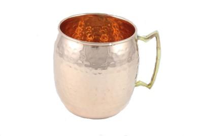 Sarvsiddhi Hammered  Copper Mug