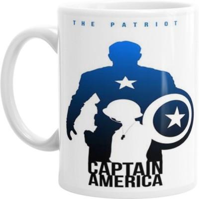 Hainaworld The Patriot Captain America Coffee  Ceramic Mug