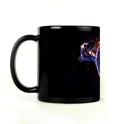 AURRA PRINTED BLACK-002 Ceramic Mug