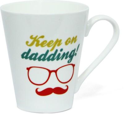 Gifts By Meeta Keep on Dadding  Ceramic Mug