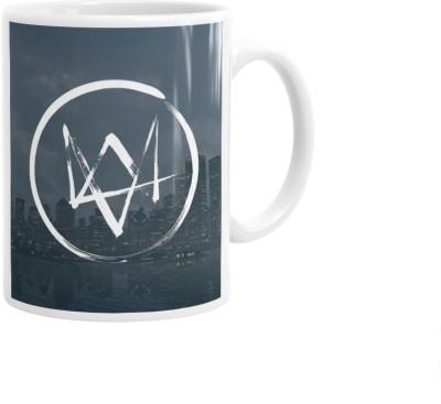 Hainaworld Watch Dogs Theme Coffee  Ceramic Mug