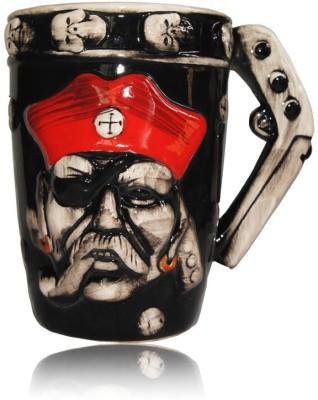 DRL DRL Red Cap Pirate Beer  Porcelain Mug