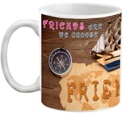 EFW FRIENDSHIP - FRIENDS ARE THE FAMILY WE CHOOSE FOR OURSELVES QUOTES Ceramic Mug