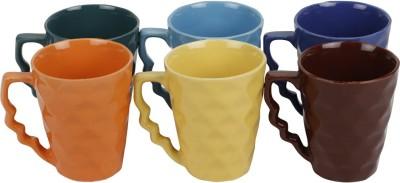 KITTENS Diamond Shaped Ceramic Mug