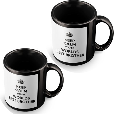 posterchacha You Are The World's Best Brother Black Tea And Coffee Gift For Brother Ceramic Mug
