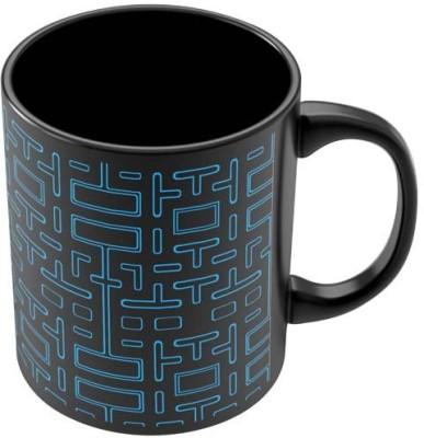 PosterGuy Pixel Art Pacmanmaze Graphic Art Ceramic Mug