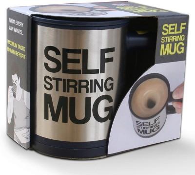 HitPlay Selfstir  Stainless Steel, Plastic Mug