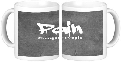 Shopmillions Pain Change People Ceramic Mug