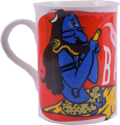 Enfin Homes Shiva Baba Bone China Mug