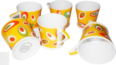 Classique Studio Graphic 6 Pieces Bone China Mug