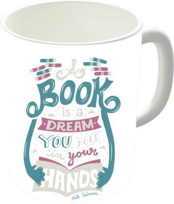 The Fappy Store Book Is A Dream Ceramic Mug
