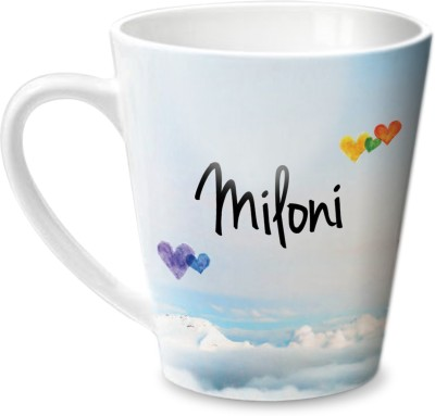 Hot Muggs Simply Love You Miloni Conical  Ceramic Mug