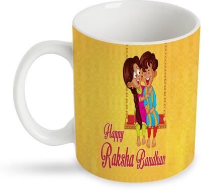 StyBuzz happy rakshabandhan Ceramic Mug