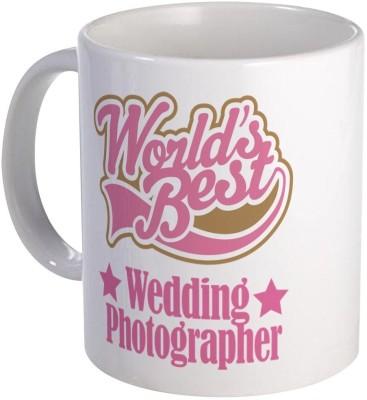 Muggies Magic Wedding Photographer Gift Coffee, Novelty Coffee Cup Ceramic Mug(325 ml)