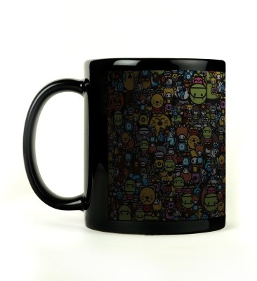 Shoperite Cute Comic Art Ceramic Mug