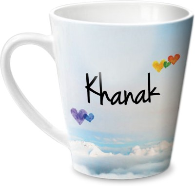 Hot Muggs Simply Love You Khanak Conical  Ceramic Mug