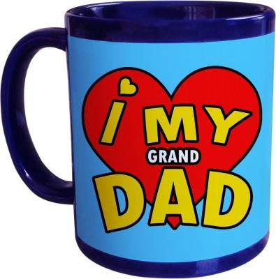 Sajawat Homes Gifts For Grand Dad Blue Coffee Ceramic Mug