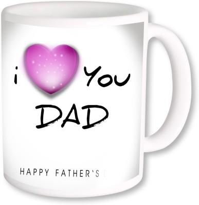 A Plus i love you dad.jpg Ceramic Mug