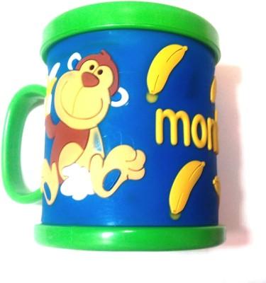 Palak Embossed Plastic Mug
