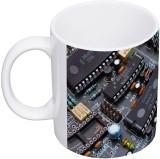 My Insignia Printed Circuit Ceramic Mug ...
