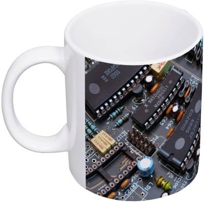 My Insignia Printed Circuit Ceramic Mug