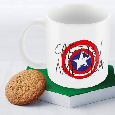 Marvel Captain America -75 Officially Licensed Ceramic Mug