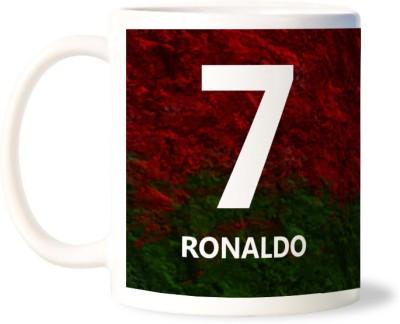 Lovely Collection Ronaldo Artistic Ceramic Mug