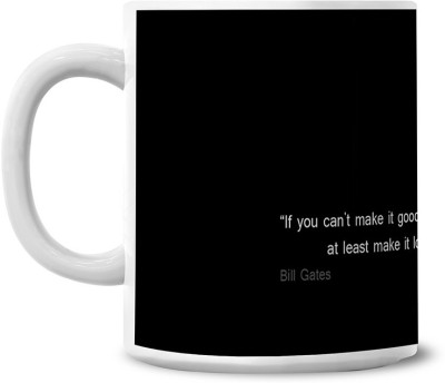Lovely Collection Bill Gates Quote Ceramic Mug