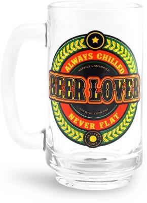 Happily Unmarried Lover Beer  Glass Mug