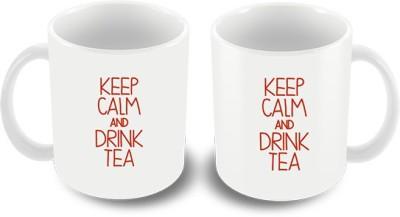 Keep Calm Desi keep calm and Drink Tea Ceramic Mug