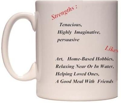 Onlineworld Zodiac Coffee - White – Cancer – 07 Ceramic Mug