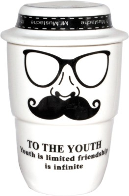 Divsam Youth Friendship Printed Ceramic Mug