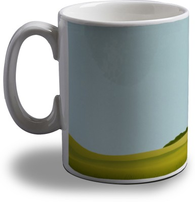 Artifa Animated Space Shuttle Porcelain, Ceramic Mug