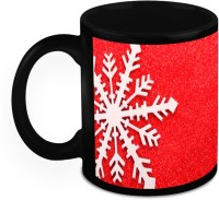 Muggies Magic Design for best Christmas Gifts Home So Good Christmas Flakes Black for Cool & Classics 11 Oz Ceramic Mug(325 ml) best price on Flipkart @ Rs. 549