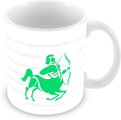 Prinzox Sagittarius Zodiac sign printed Ceramic Mug