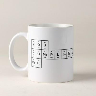 LetterNote You Complete Me Combo Ceramic Mug