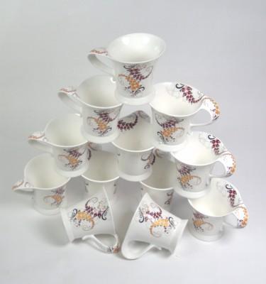 Clay Craft CP-WONDER LEAF Bone China Mug